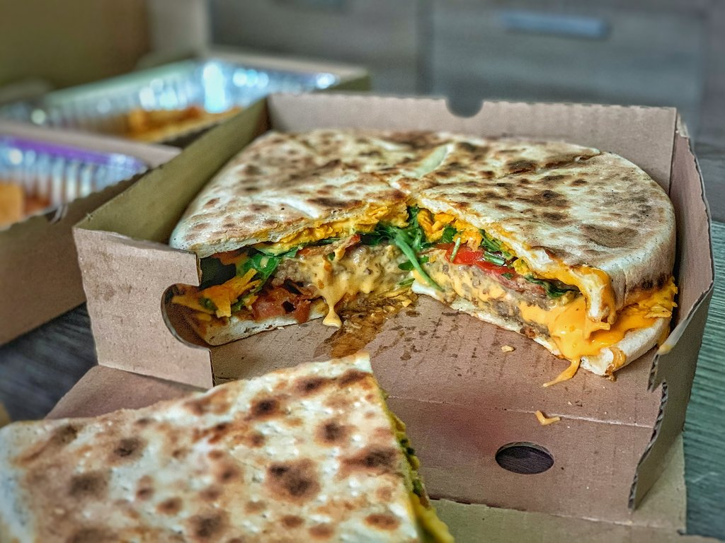 PizzaBurger - Pizza hamm - pizza burger